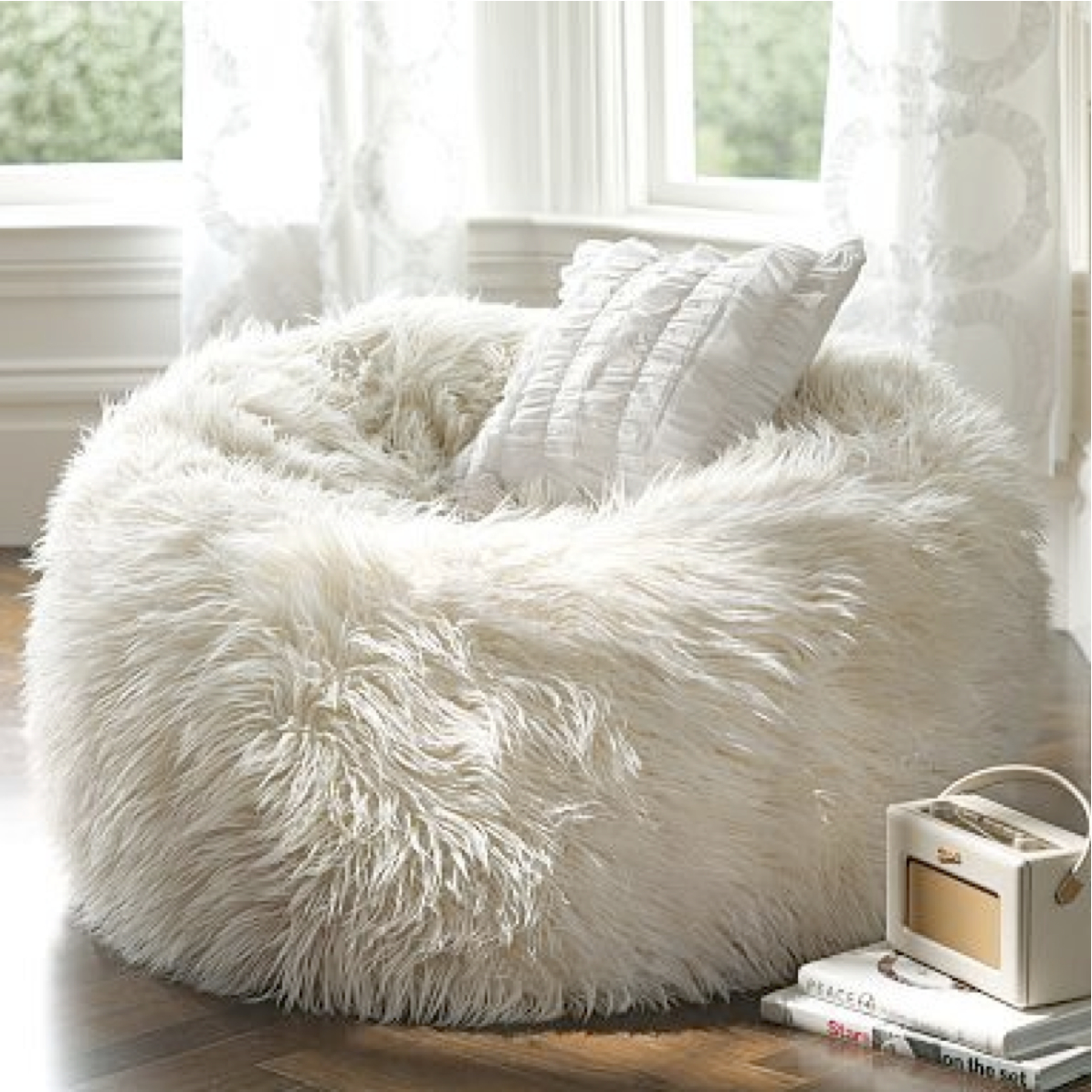 Poof Chairs. One ...